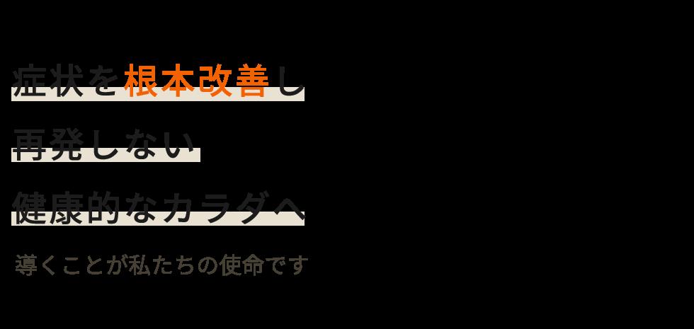 坂戸市の整体なら「ひまわり堂整骨院」 メインイメージ